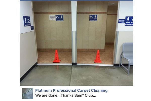 Commercial Cleaning Platinum Professional Carpet